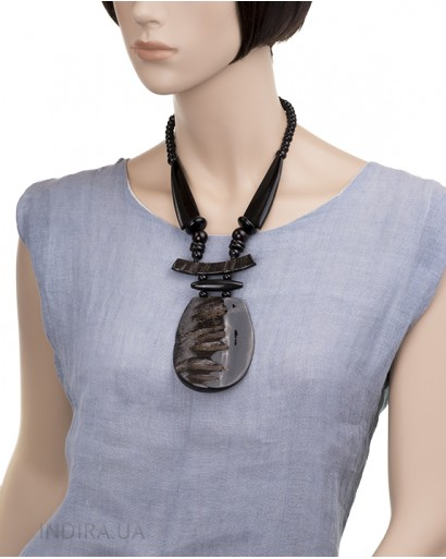 Water Buffalo Horn Necklace