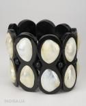 Horn and Shell Bracelet