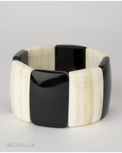 Horn and bone bracelet