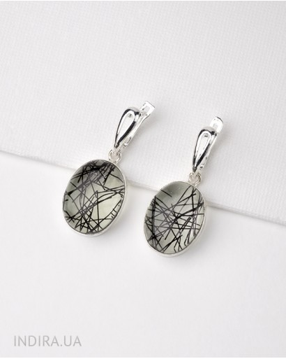 Rutile Quartz Earrings