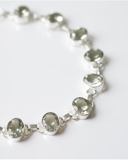 Green Amethyst Bracelet