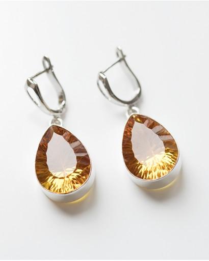 Imperial Topaz Earrings