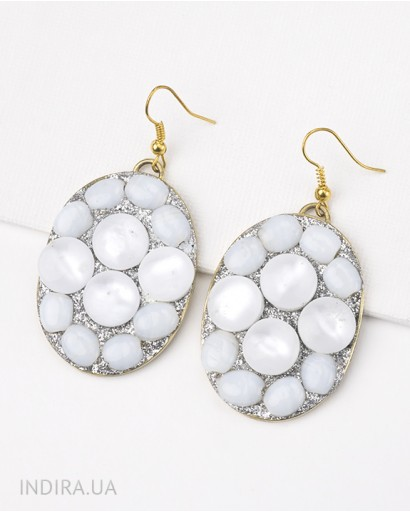 Moonstone Imitation Earrings