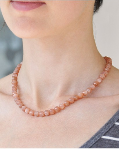 Heliolite Necklace