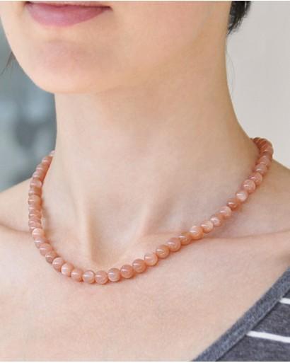 Heliolite necklace