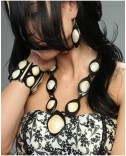 Horn and Shell Necklace