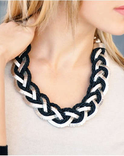 Pigtail Necklace