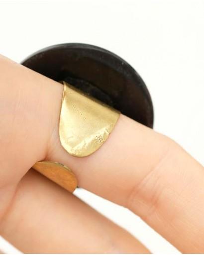 Кольцо из рога разъёмное