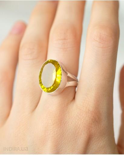 Кольцо с цитрином