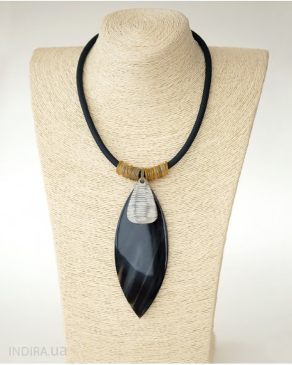 Necklace with Horn Pendant