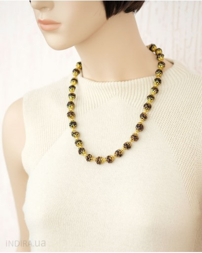 Brown and Golden Necklace