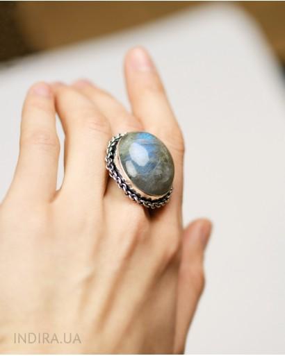 Кольцо с лабрадором