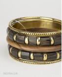Wood Bracelets Set
